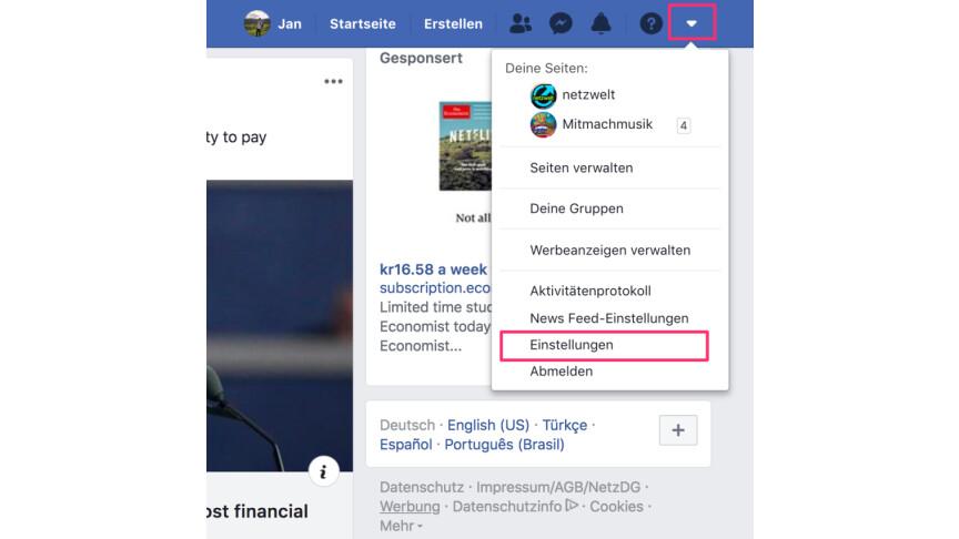 Facebook So ändert Ihr Euren Namen Netzwelt