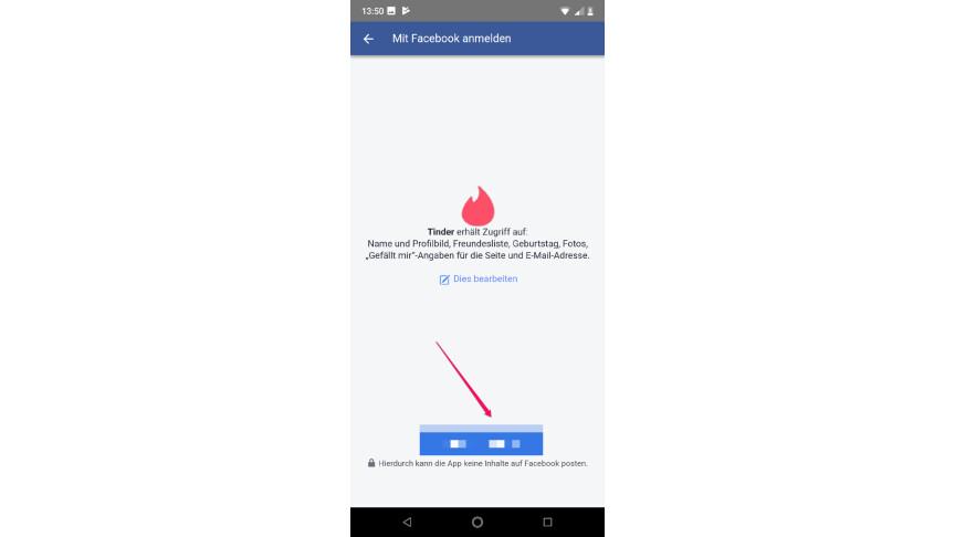 braucht man für tinder facebook