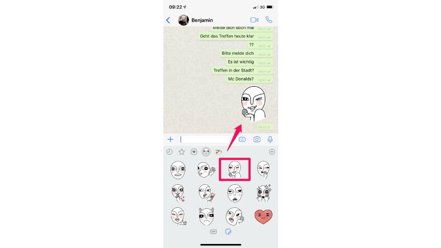 whatsapp sticker selber machen so geht 39 s netzwelt. Black Bedroom Furniture Sets. Home Design Ideas