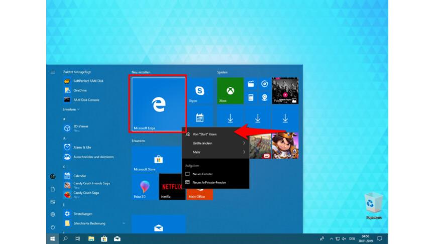 Microsoft Edge Entfernen