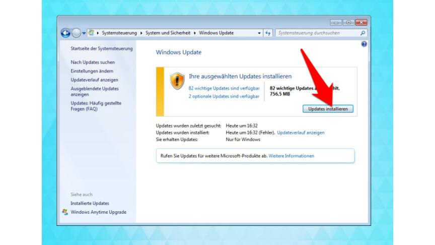 windows explorer aktualisieren