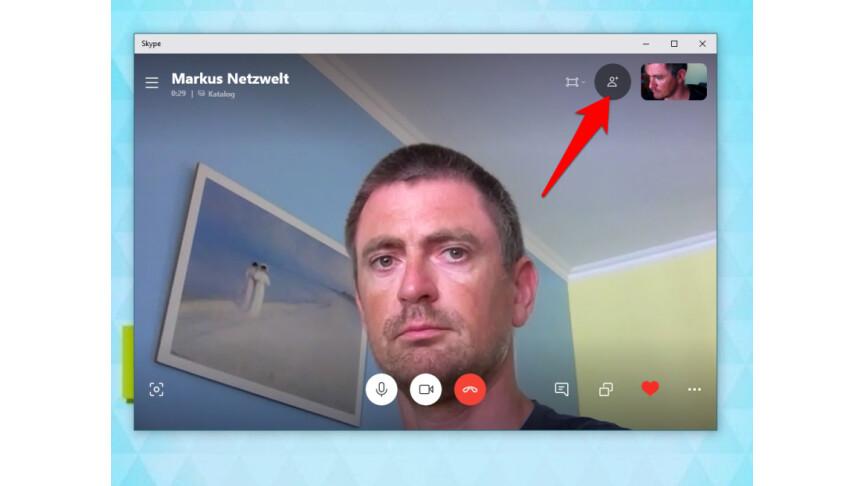 Skype zu dritt