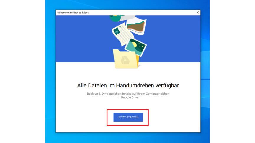 Google Drive: Daten automatisch zwischen PC und Cloud synchronisieren