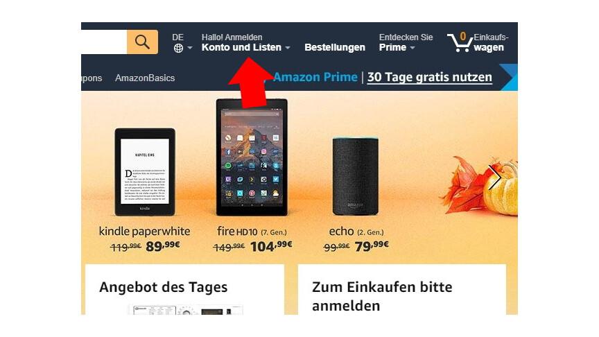 Amazon: So schützt ihr euer Konto mit der Zwei-Schritt-Verifizierung