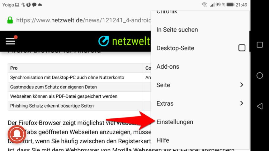 Cookies Löschen Android Firefox