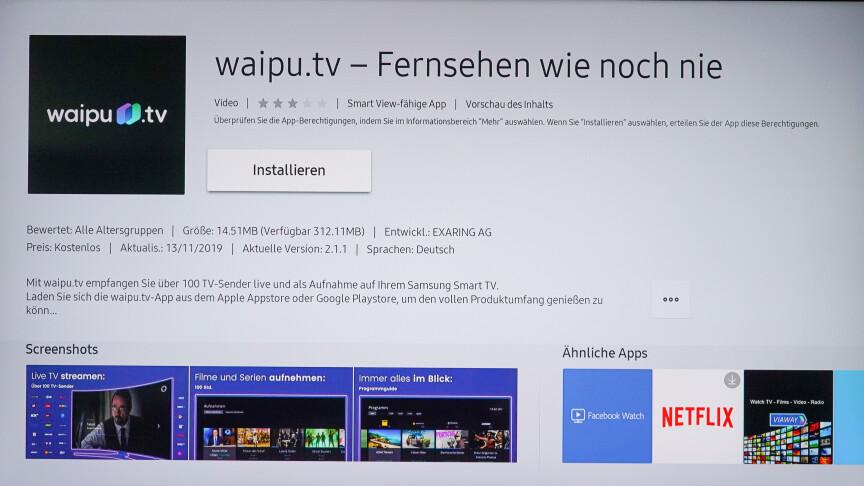Waipu Auf Samsung Tv Installieren