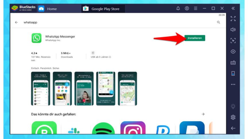 Whatsapp Web Videotelefonie