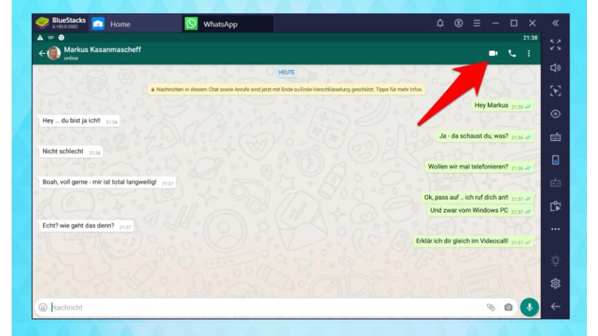 Whatsapp Web Videoanruf Pc