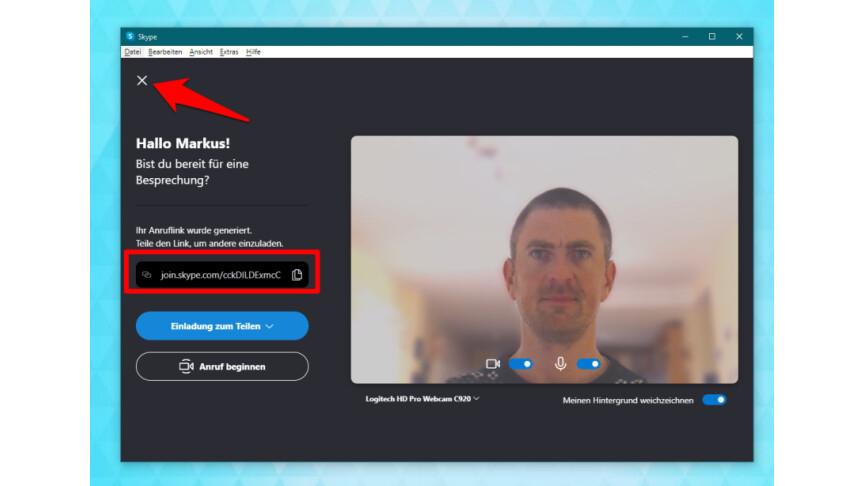 Skype Videoanruf Gruppe