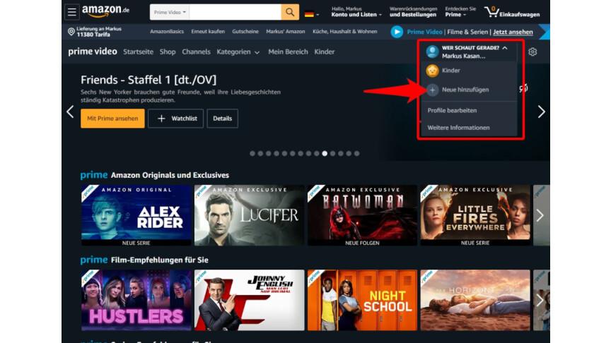 Amazon Prime Gebühr