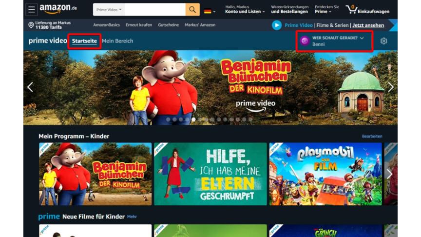 Amazon Prime Video Altersbeschränkung