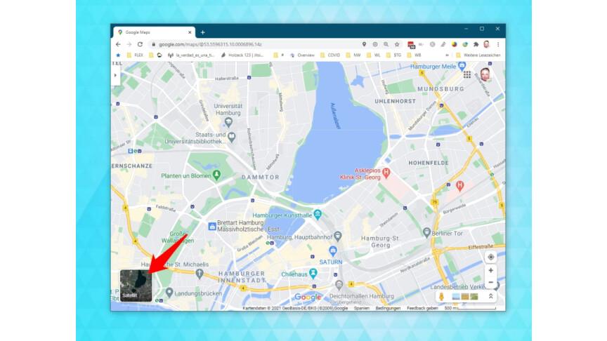 Google Maps Himmelsrichtung Anzeigen