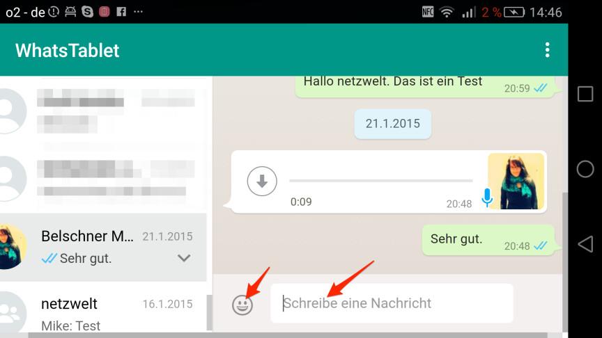Whatsapp Smiley Nachrichten