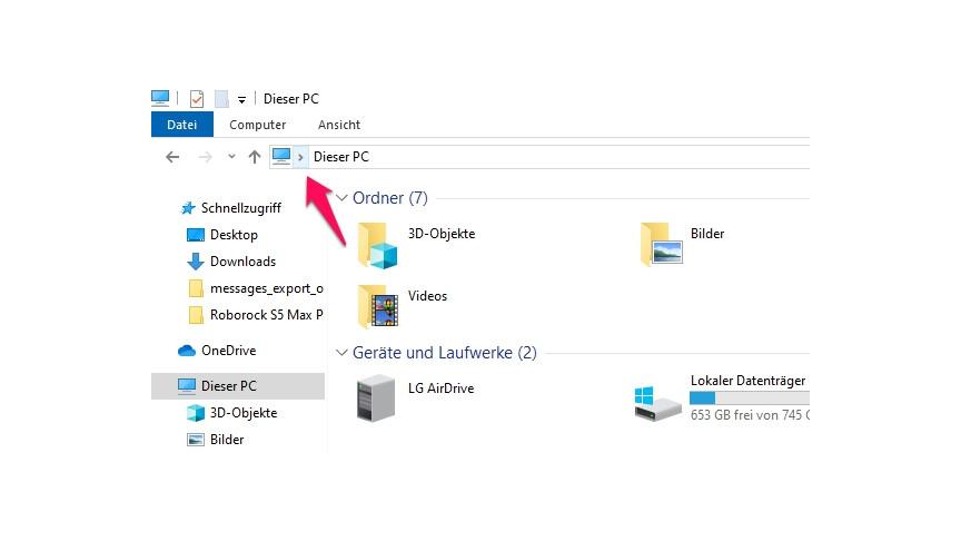 Windows 10: So speichert ihr die Blickpunkt-Sperrbildschirmbilder