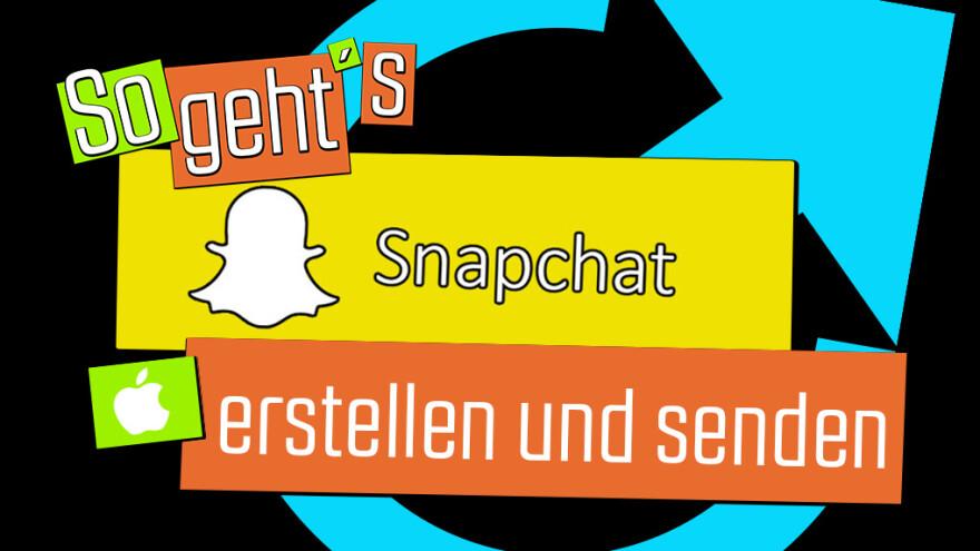 Snapchat senden Akte