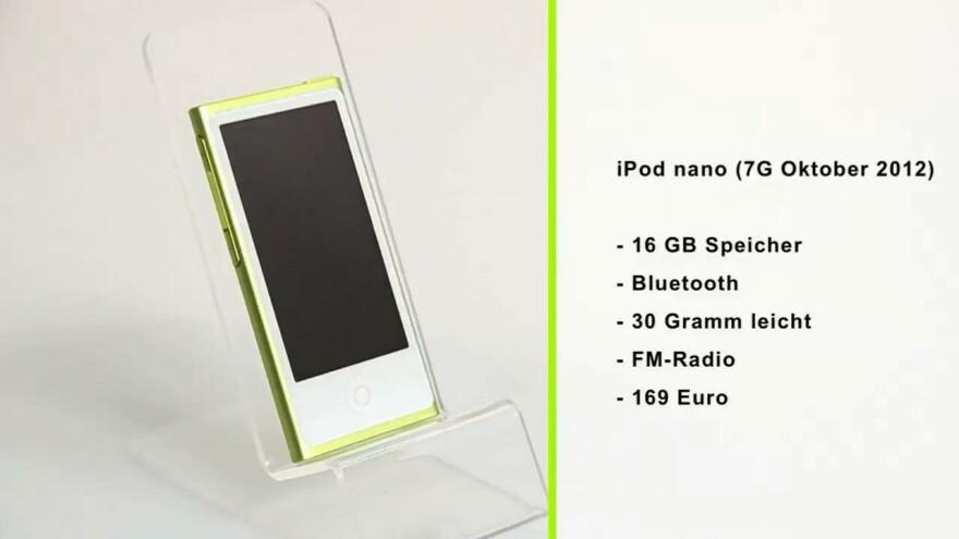 Touchdownsizing: Apple iPod nano 7G im Test - NETZWELT