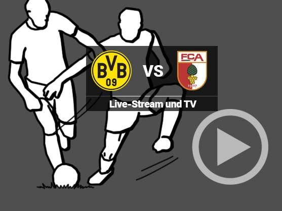 augsburg bvb live stream