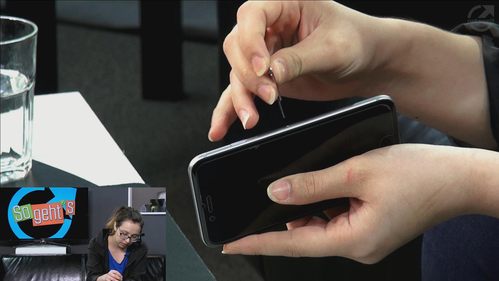 Iphone 5s Sim Karte Einlegen.So Geht S Iphone 5 Nano Sim Karte Einlegen Netzwelt