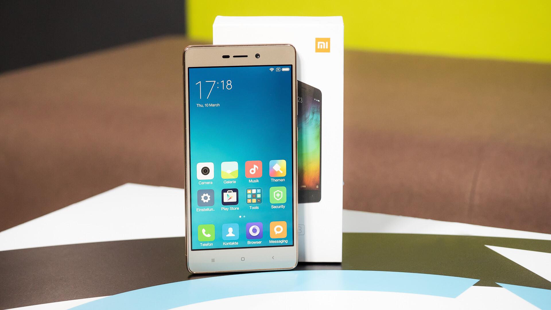 Xiaomi Redmi 3 Im Video Netzwelt
