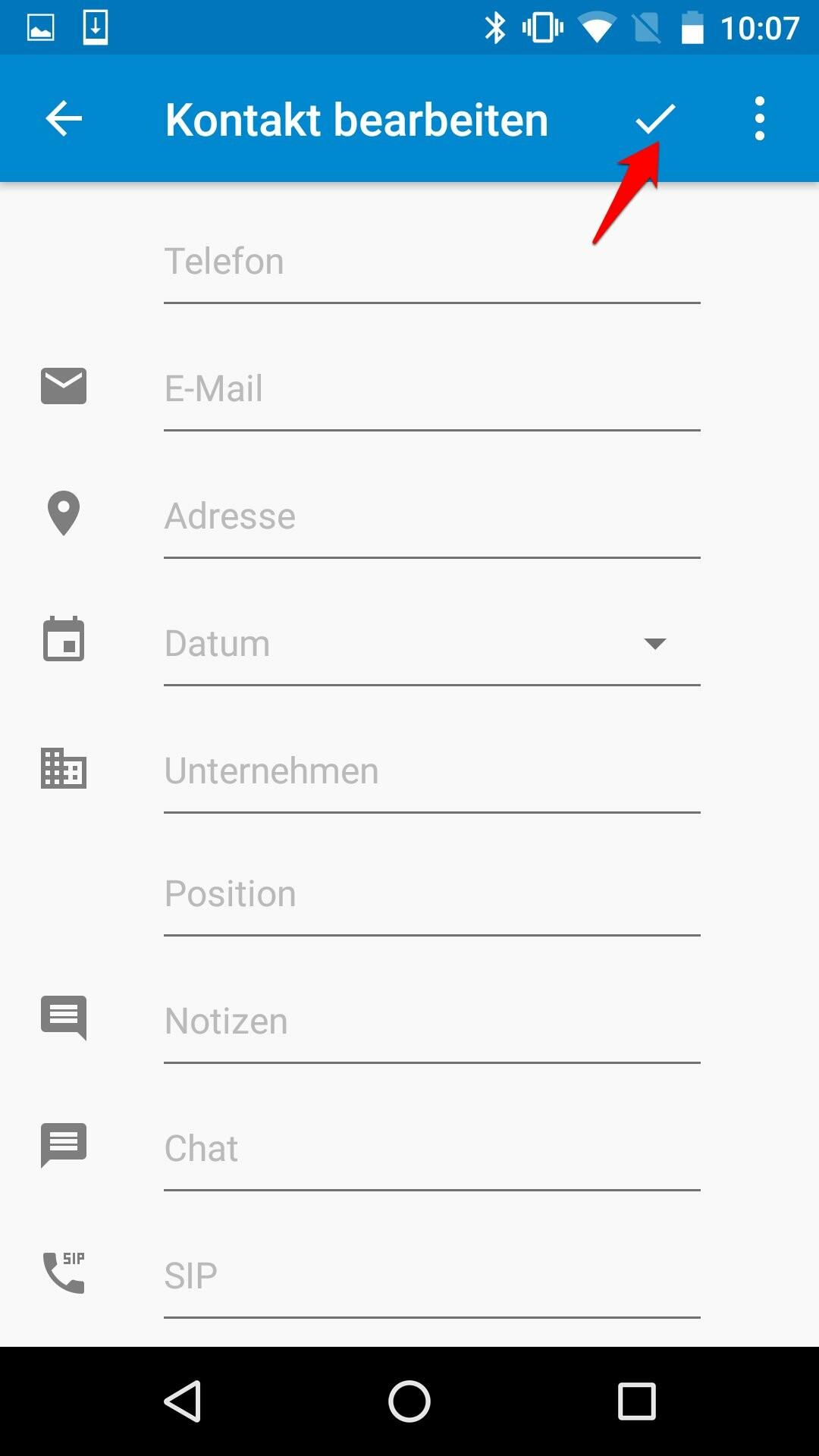 Datum-Kontaktnummer