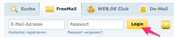 Www.Web.De Club Login
