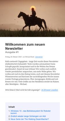 netzwelt-Newsletter