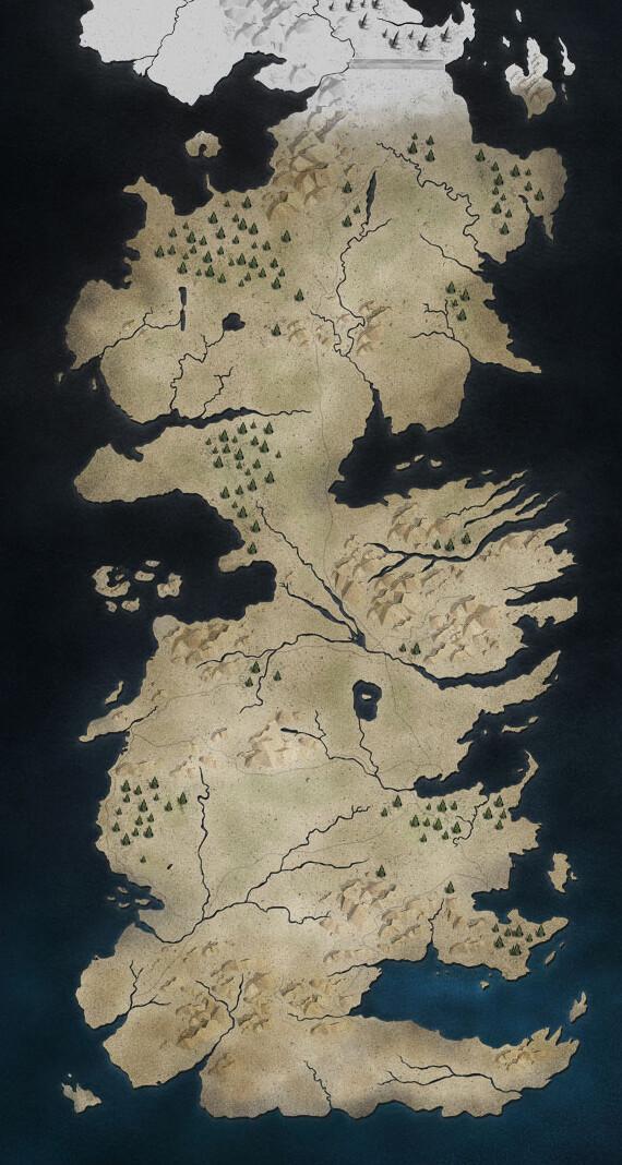 Westeros Karte Hd.Game Of Thrones Wichtige Hauser Von Westeros Im Uberblick