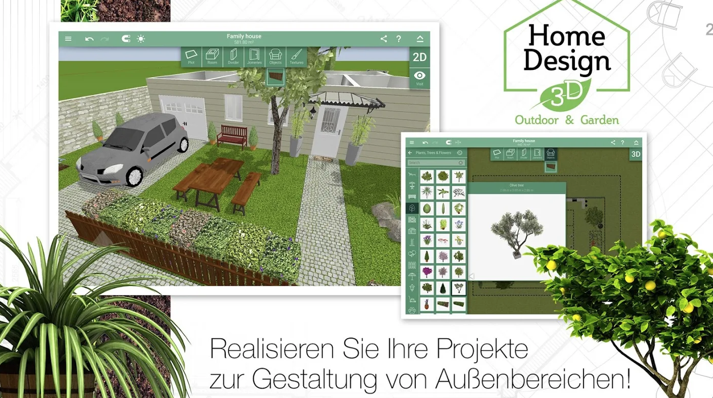 Home Design 20D Outdoor & Garden   Download   NETZWELT