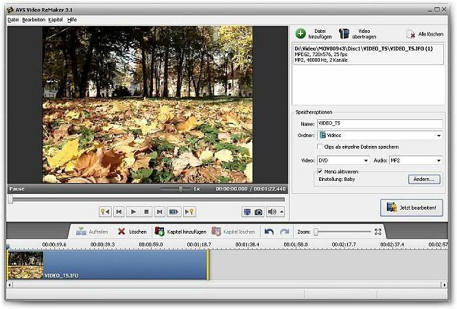 Создание HD/BD/DVD-видео. увеличить: AVS Video Remaker 3.1.1.83. Графическ