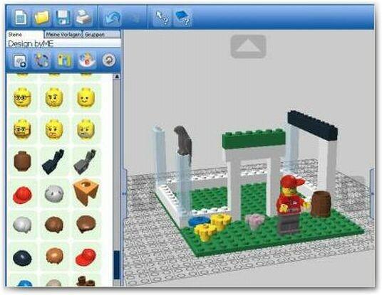 lego digital designer download netzwelt. Black Bedroom Furniture Sets. Home Design Ideas